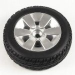 10″ Black Flat-Free Drive Wheel Assembly for Jazzy Select