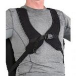 Adjustable Stretch with Center Opening Anterior Trunk Support