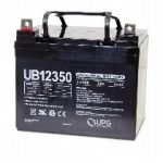 12V 35AH Sealed Lead Acid Batteries (Pair)