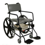 Rehab Shower Commode Chair – 24″ Wheels