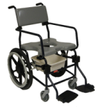 Rehab Shower Commode Chair – 20″ Wheels